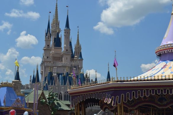 Imagem do castelo Magic Kingdom na Disney